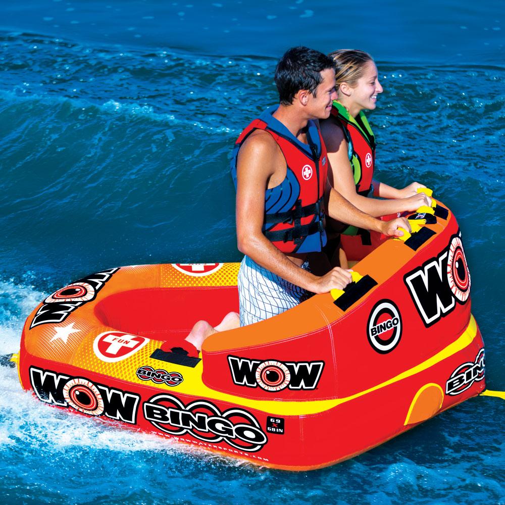 トーイングチューブ WOW/ワオ 2人乗り ビンゴ 2 バナナボート