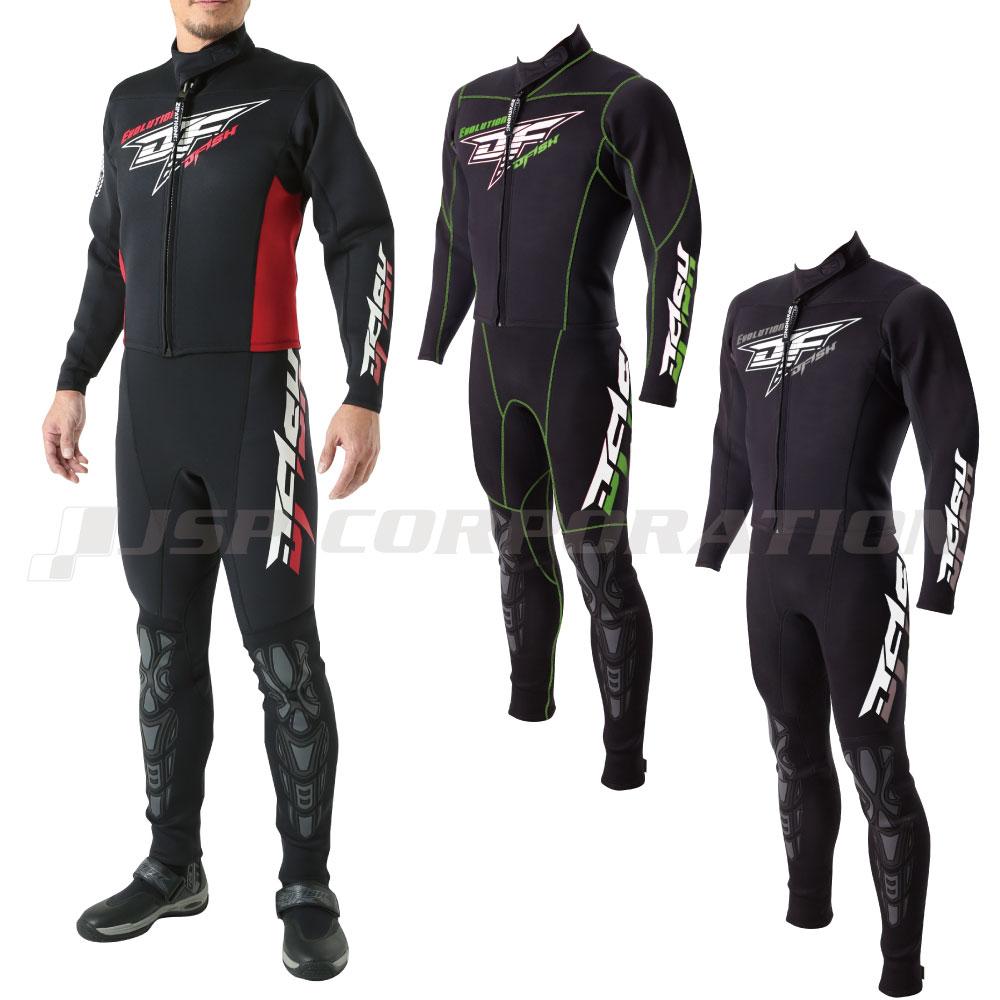 ウェットスーツ J-FISH ジェイフィッシュ エボリューション ウェットスーツ メンズ / マリンスポーツ 水上バイク ジェットスキー