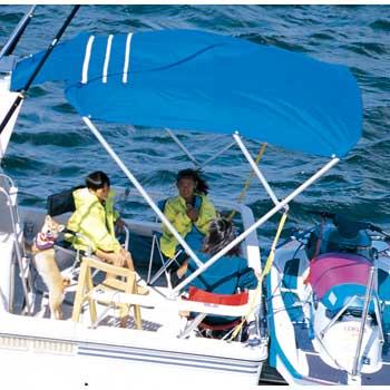 REGAR(リガー) アフトデッキオーニング (ジョイントシート&アルミレール付) L-3 ビミニトップ オーニング ボート