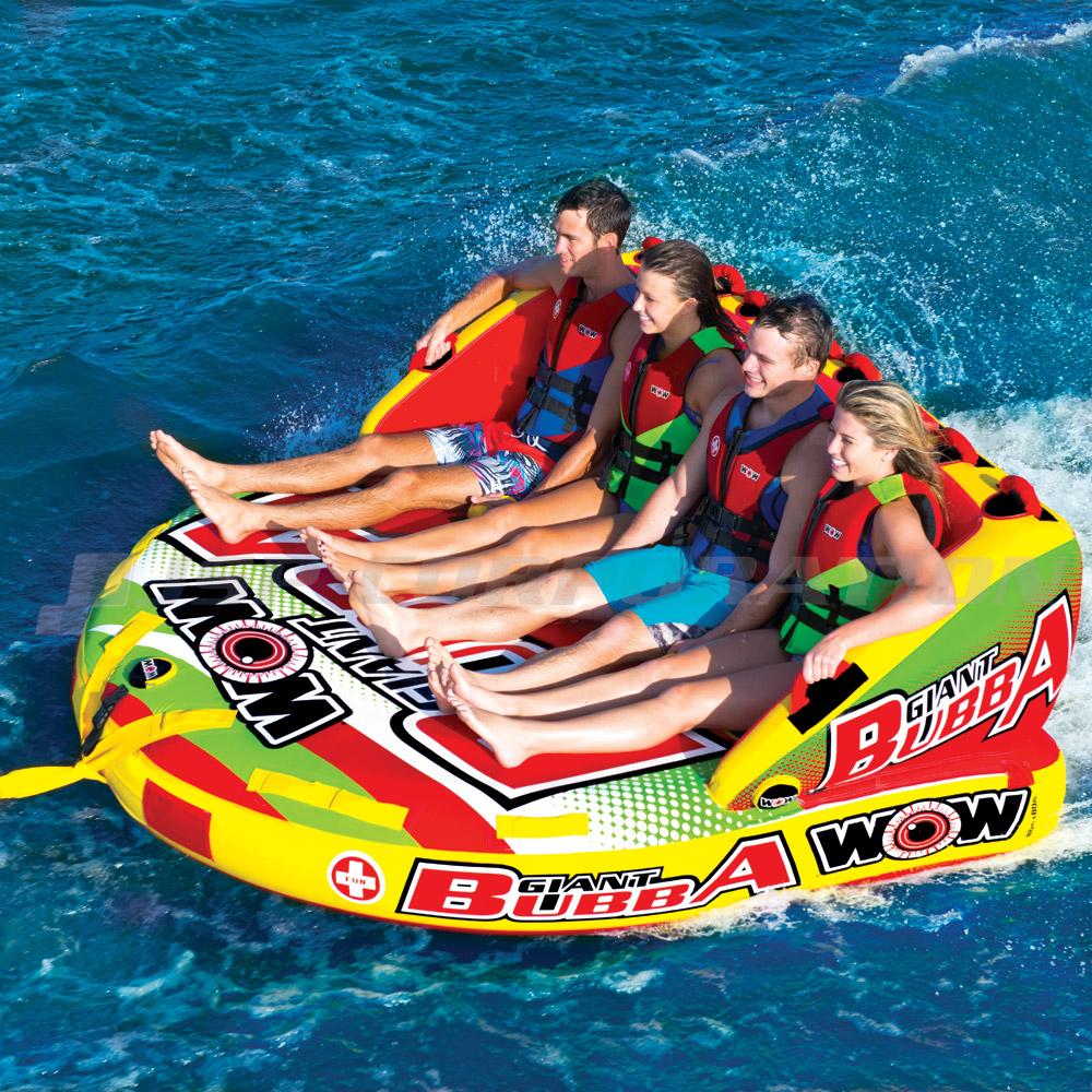 トーイングチューブ WOW/ワオ 4人乗り ジャイアントブッバ バナナボート