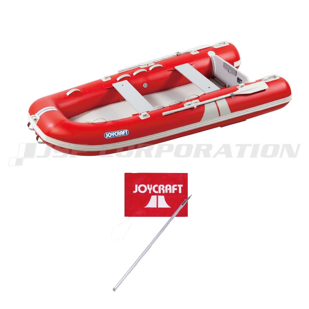 グランド315 JFR-315 レッド 予備検査付き 電動ポンプなし 4人乗り ゴムボート ジョイクラフト