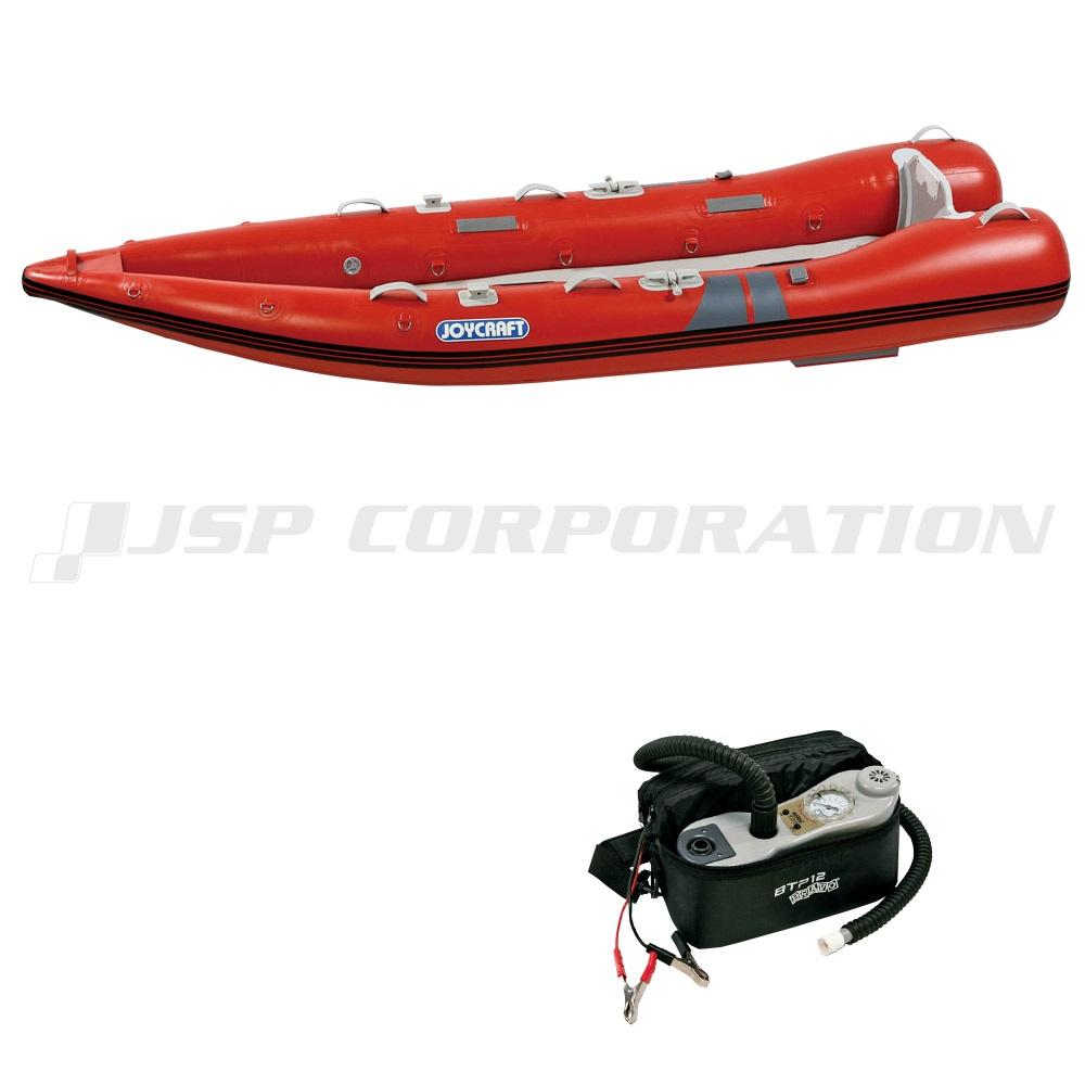 カヤック340 KYK-340 電動ポンプ付き 予備検査なし 2人乗り ゴムボート ジョイクラフト
