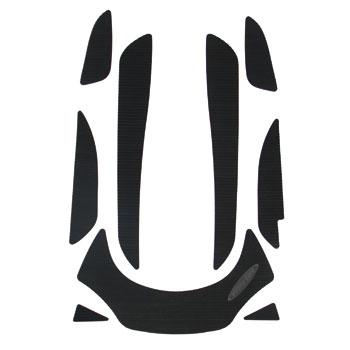 HYDRO-TURFデッキマットキット(テープ付き)GTI(06-10) Cut Groove, Black 9PCS