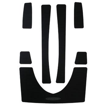 HYDRO-TURFデッキマットキット(テープ付き)RXP(-06) Cut Groove, Black 7PCS
