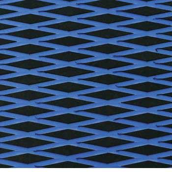 HYDRO-TURFツートン汎用トラクションマット(テープ付き)カットダイヤ BLACK/ROYAL