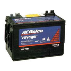 ACデルコボイジャー ディープサイクルバッテリー 105A 12V
