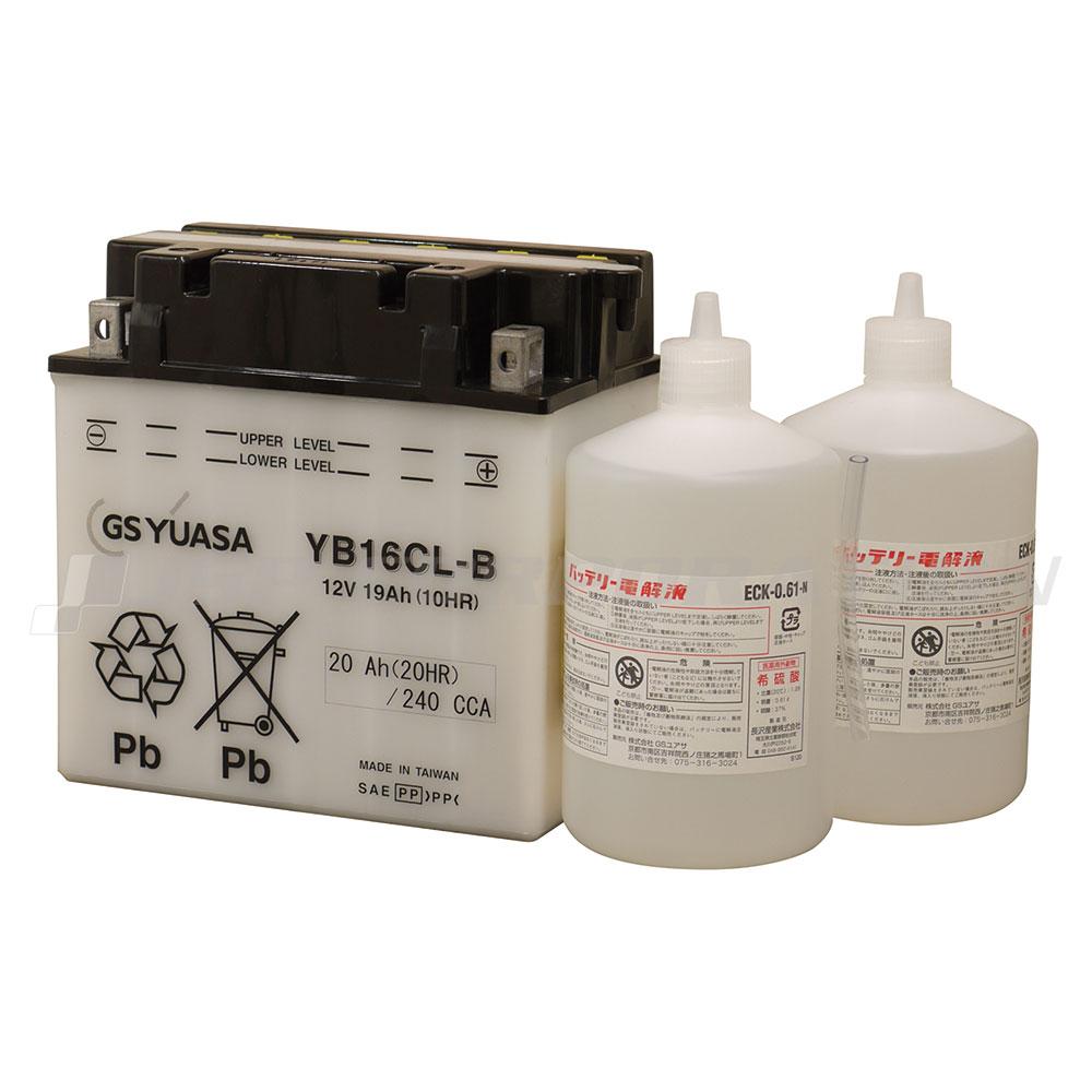 GS YUASA ジーエス ユアサ バッテリー YB16CL-B