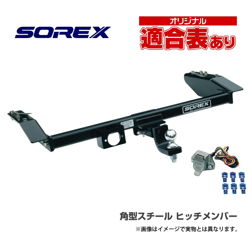 ヒッチメンバー ランドクルーザープラド 150系 角型スチール DD-025 ソレックス【代引不可】