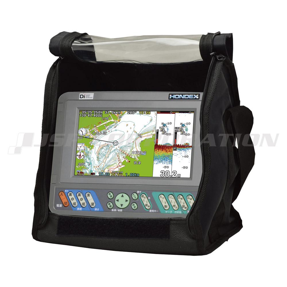 HONDEX(ホンデックス)PS-700GP-DI(s) バリューセット7型ワイドカラー液晶 GPSプロッタ魚探アンテナ内蔵仕様 600W 50/200kHz 2周波
