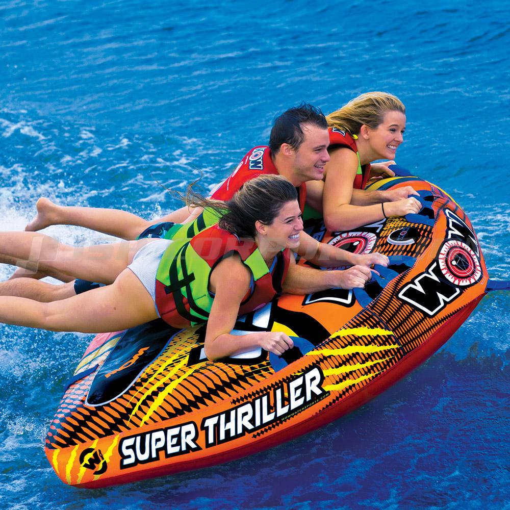 トーイングチューブ WOW/ワオ 3人乗り スーパースリラー バナナボート