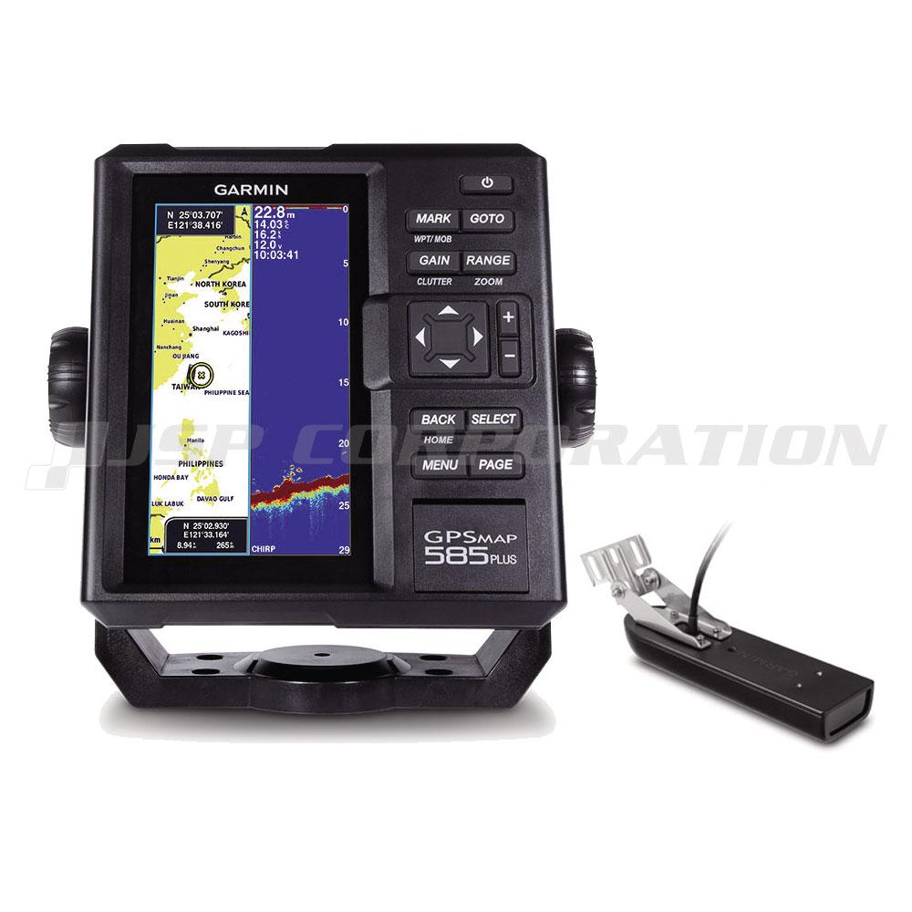 ガーミン 魚探 GPSMAP 585 Plus GPS連動 GT21-TM振動子セット