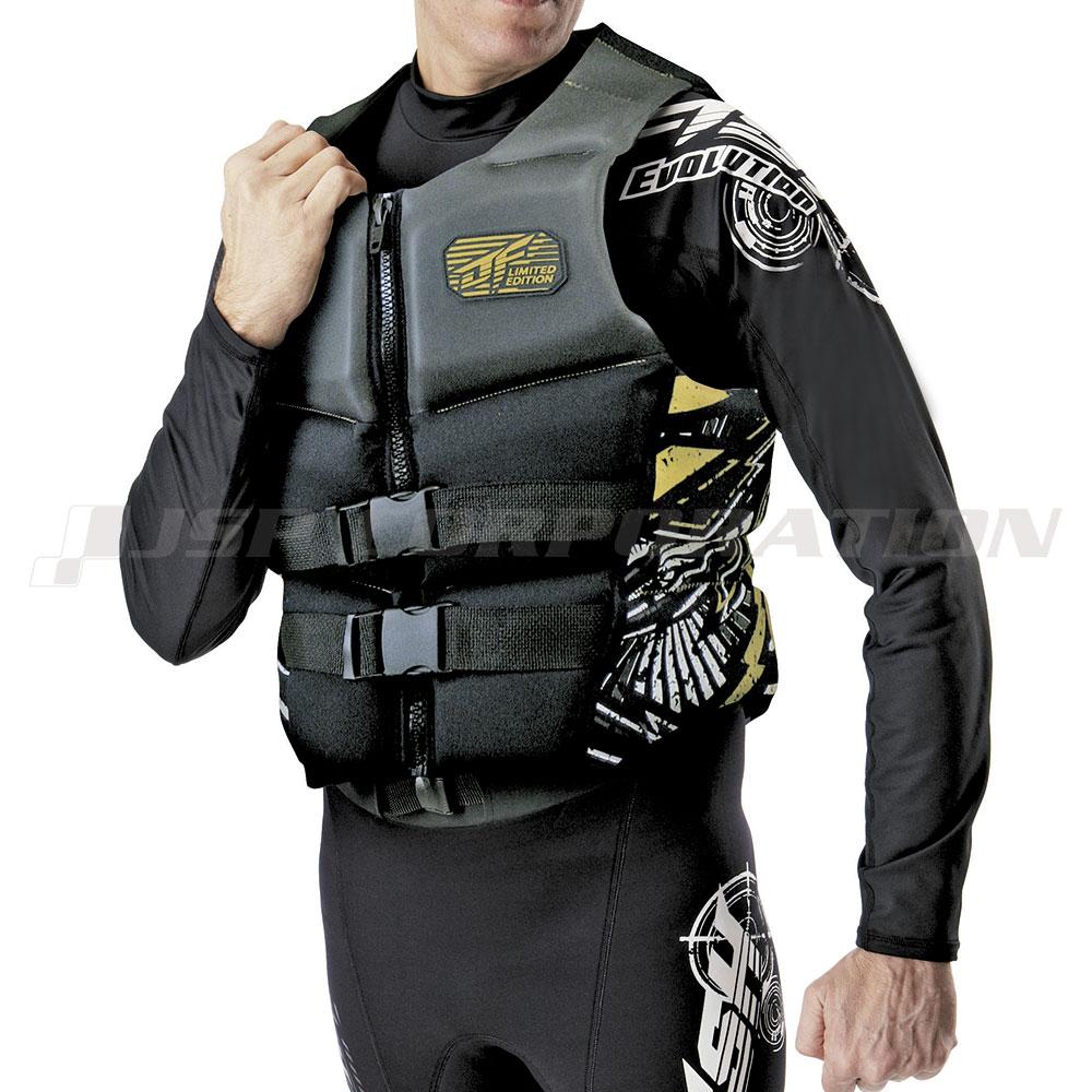 【小型特殊(PWC)船舶検査対応】 ライフジャケット メンズ 大人用 ネオベストスキンTYPE J-FISH / ジェイフィッシュ ジェットスキー 水上バイク ライフベスト