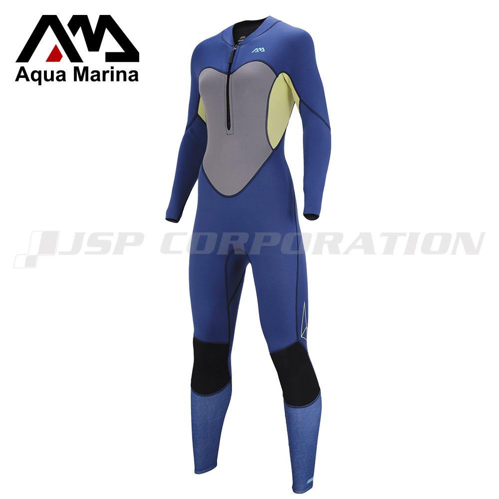 ウェットスーツ 3mm/2mm ATLAS アトラス ウィメンズ AQUA MARINA(アクアマリーナ) ウエットスーツ サーフィン ダイビング SUP