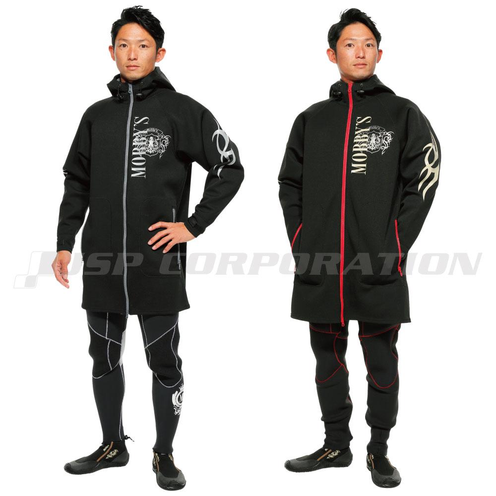 ネオジャケット / モビーズ MOBBYS ツアーコート マリンコート ツーリングジャケット ネオプレンジャケット 防寒具 ウェットスーツ