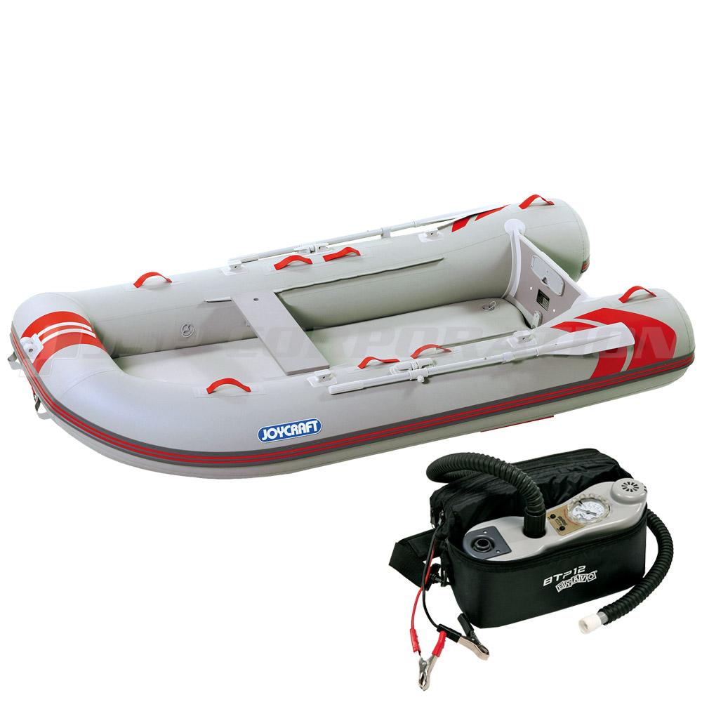 レッドキャップ300 JRC-300 電動ポンプ付き 予備検査なし 4人乗り ゴムボート ジョイクラフト
