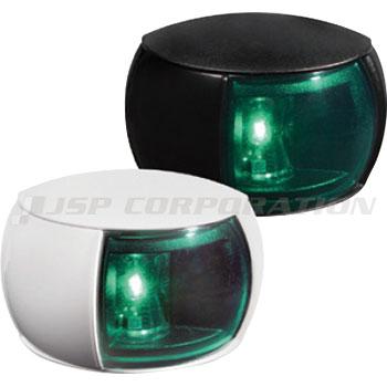 LED航海灯 第二種 右舷灯 (緑) HELLA MARINE コンパクトシリーズ 小型船舶検査対応