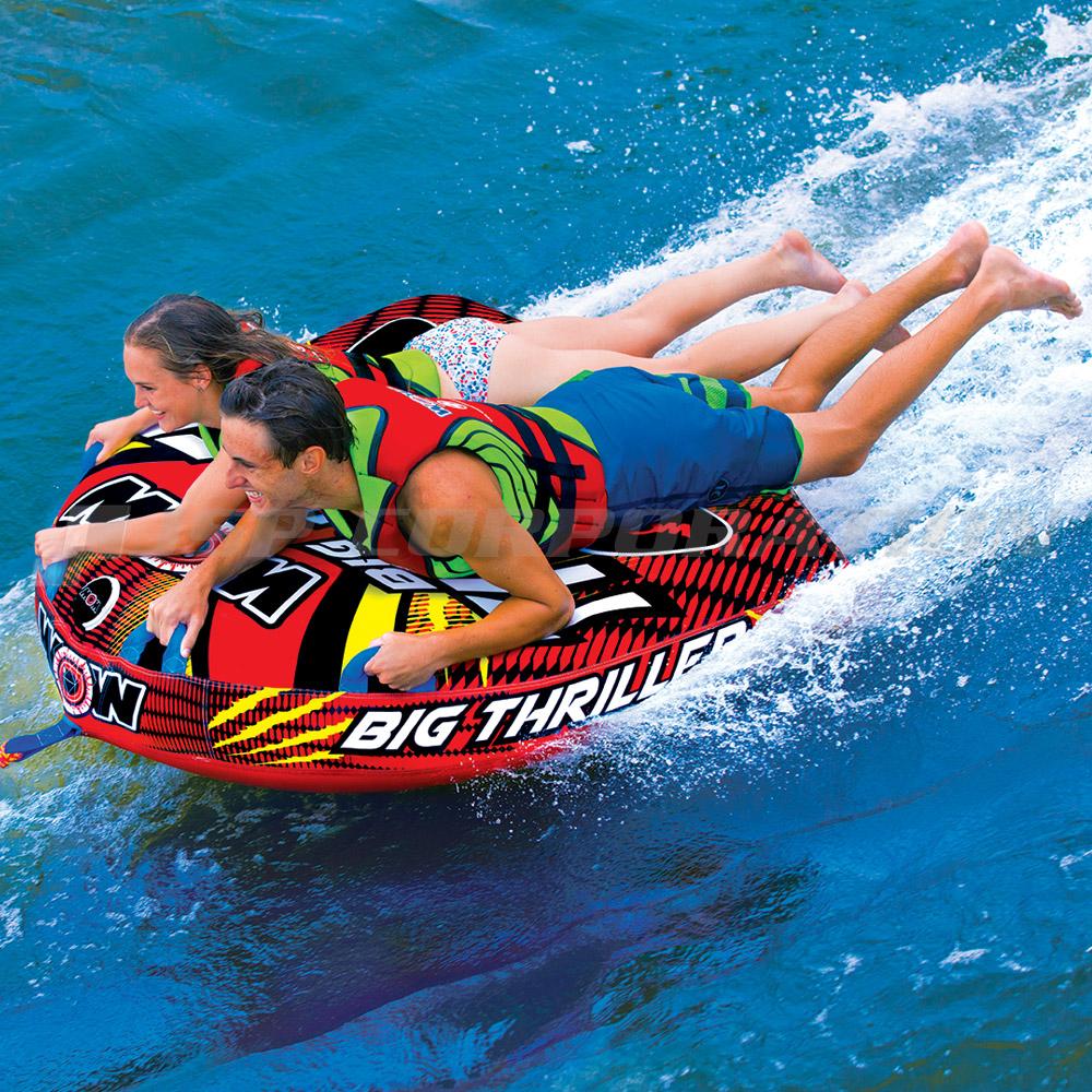 トーイングチューブ WOW/ワオ 2人乗り ビッグスリラー バナナボート