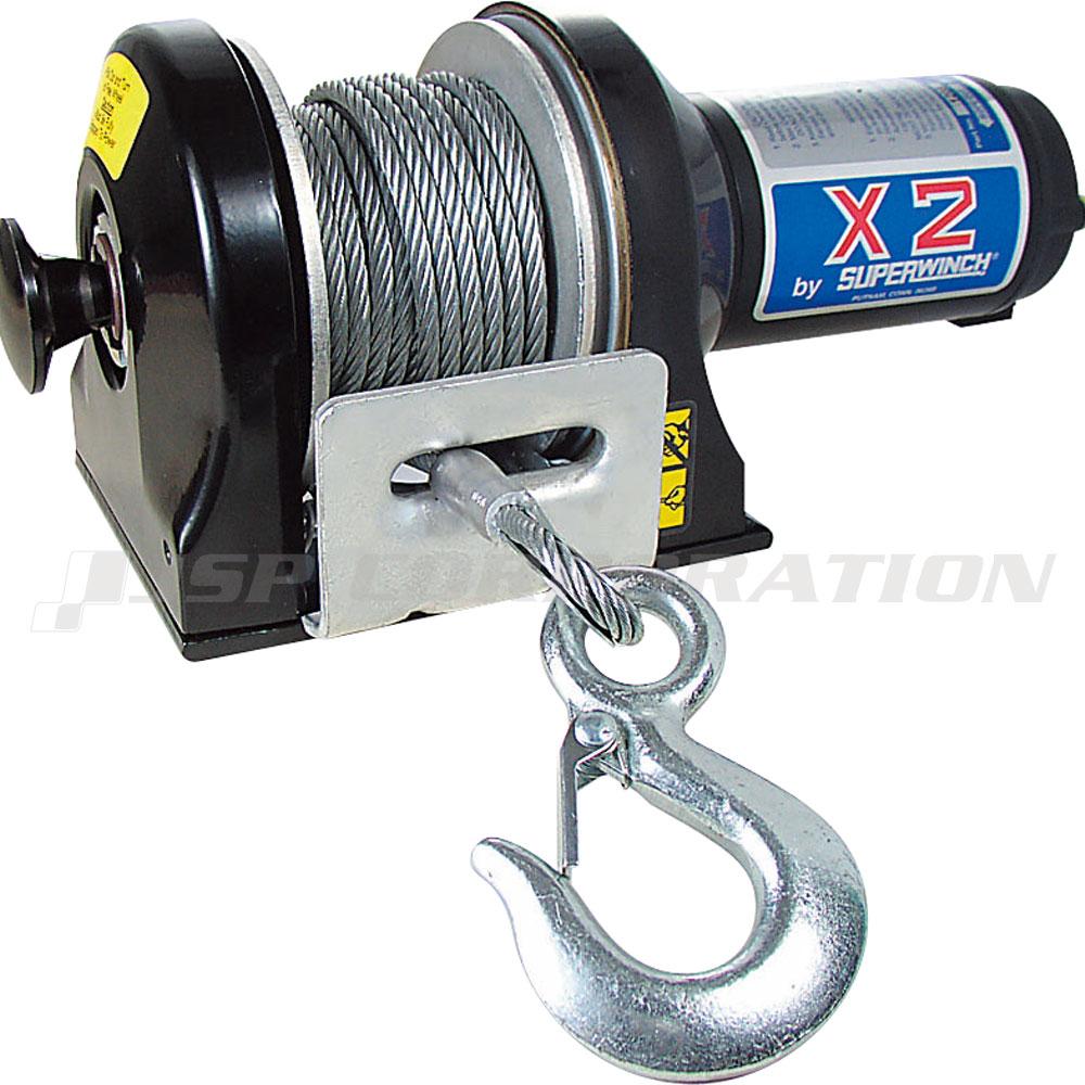電動ウィンチ X2クラッチ付