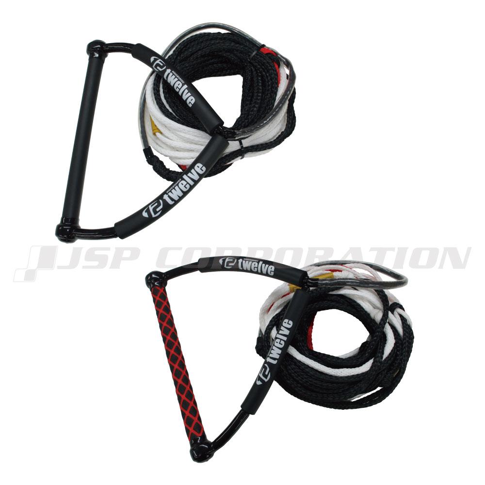 ウェイクハンドル 新着セール ライン 価格 ウェイクボード ハンドル ロープ 22.5m セット 75ft=60+5+5+ハンドル5