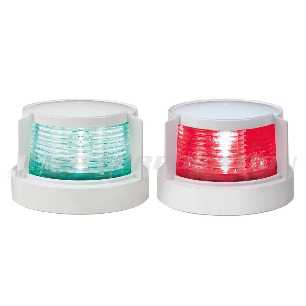 航海灯 LED 第二種 右舷灯(緑) & 左舷灯(赤) 2個セット 小糸製作所 小型船舶検査対応