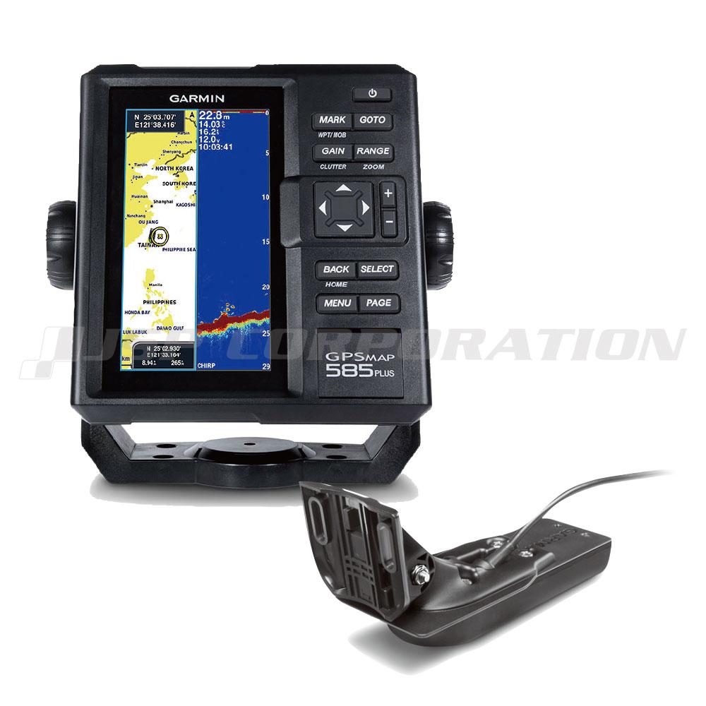 ガーミン 魚探 GPSMAP 585 Plus GPS連動 GT22HW-TM振動子セット