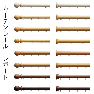 【カーテンレール】【TOSO】レガート【A/B/E/M ダブル(正面付)セット 300cm】 neore
