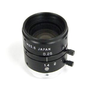メガピクセル対応CCTVレンズ 25mm F1.4