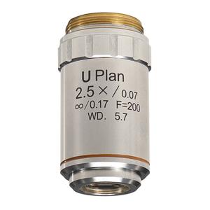 顕微鏡 マイクロスコープ 迅速な対応で商品をお届け致します 検査 実験 工場 研究所 検品カメラ 観察 日本製 アクロマート対物レンズ 今だけ限定15%OFFクーポン発行中 U CCD 無限遠補正 明視野観察用 2.5倍 Plan
