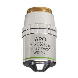 【日本製】蛍光観察用 アポクロマート対物レンズ 20倍