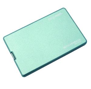 エッシェンバッハ LEDライト付きポケットルーペ 【イージーポケットメタリックブルー】 4倍 デザイン豊富でプレゼントに最適!おしゃれで可愛くて機能的!
