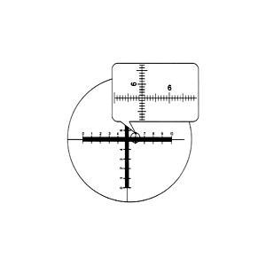 【 送料無料 】 【 渋谷光学 接眼ミクロメーター (No.R1390-26) 】クロスXY目盛 外径26.0mm