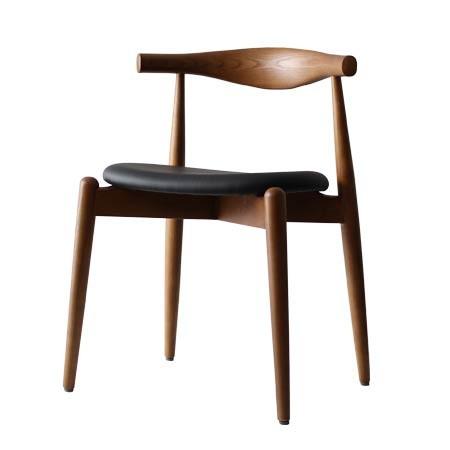 ハンス・J・ウェグナー エルボチェア(ラウンド)【デザイナーズチェア ダイニングチェア 木製チェア 1人掛け】