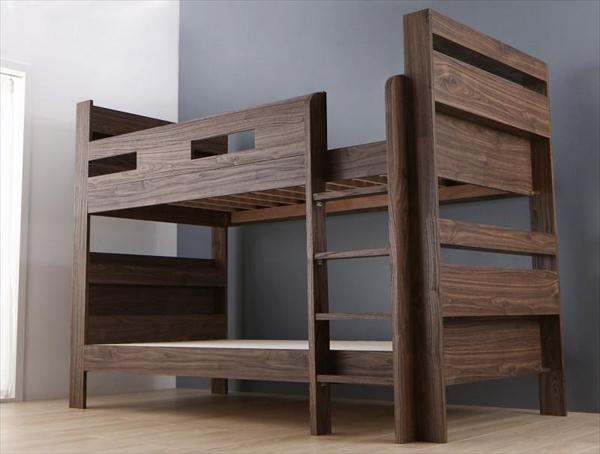 ずっと使える!2段ベッドにもなるワイドキングサイズベッド Whentoss ウェントス ベッドフレームのみ ワイドK200 「木製 おしゃれ 2段ベッド 耐震構造 」