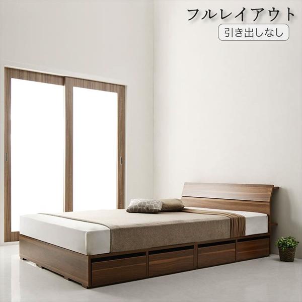 棚コンセント付デザイン収納ベッド Novinis ノビニス プレミアムボンネルコイルマットレス付き 引き出しなし フルレイアウト セミダブル フレーム幅120