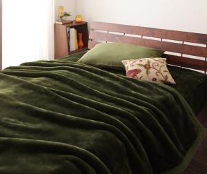 【50円OFFクーポン発行】 プレミアムマイクロファイバー贅沢仕立てのとろける毛布・パッド gran+グランプラス 2枚合わせ毛布・パッド一体型ボックスシーツセット 発熱わた入り セミダブル 寝具2点セット 吸湿・発熱繊維 静電気防止