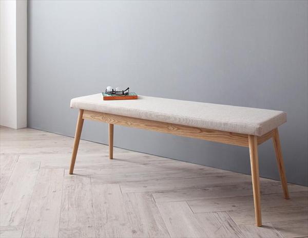 北欧デザイナーズダイニングセット Cornell コーネル ベンチ 2P  「家具 インテリア 天然木 ダイニングチェア ベンチ 椅子 」