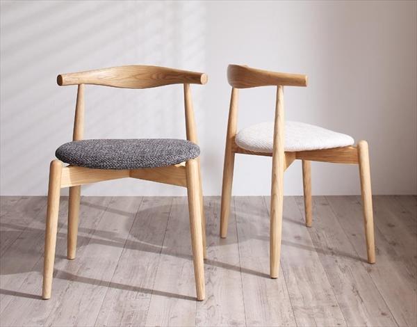 デザイナーズ北欧ラウンドテーブルダイニング Rour ラウール ダイニングチェア 2脚組 スタッキングチェア   チェアのみ  「北欧 天然木 木目 ダイニングチェア チェア 椅子 いす」