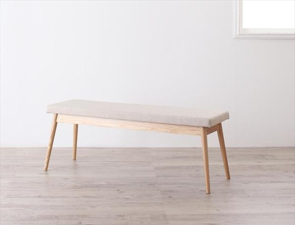 北欧デザインワイドダイニング【OLELO】オレロ ベンチ  「北欧 天然木 木目 ダイニングベンチ いす 」