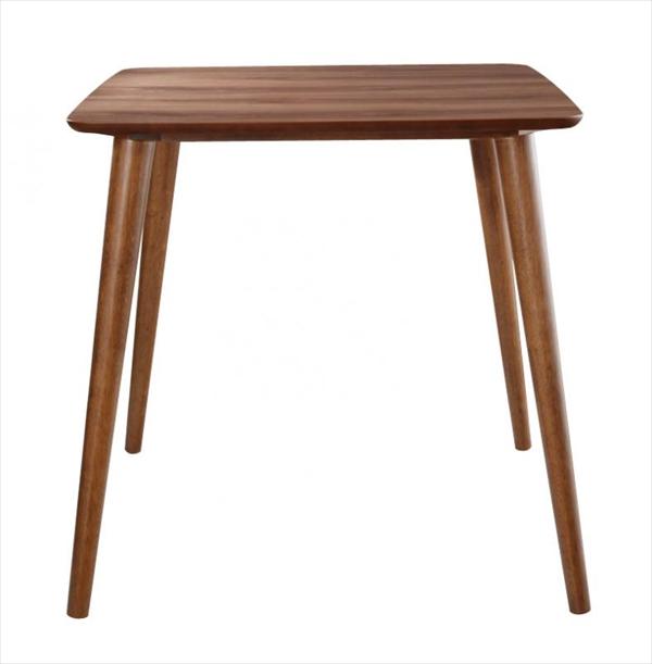 ラウンドチェア×レザー カフェスタイルダイニング【Patrie】パトリ テーブル(W75)「北欧 天然木 ダイニングテーブル カフェスタイル テーブル」