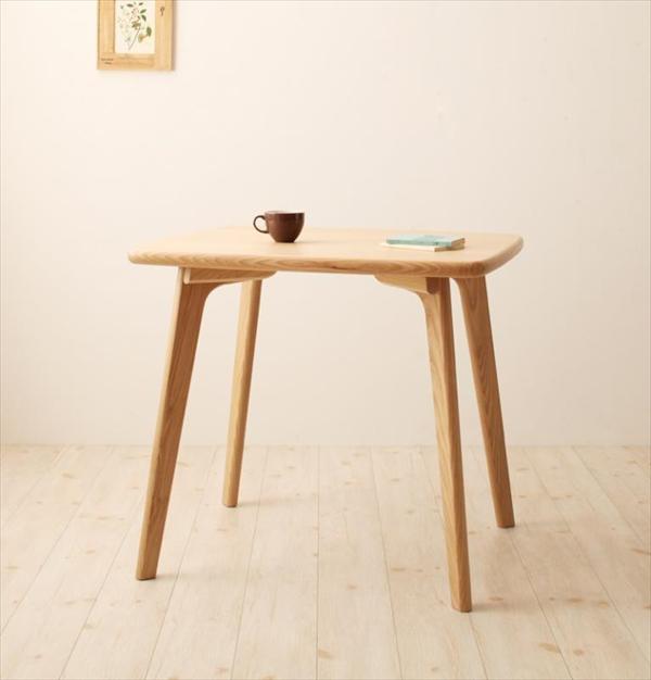 天然木ウィンザーチェアダイニング【Cocon】ココン テーブル(W80) 「北欧 天然木 木目 ダイニングテーブル テーブル」