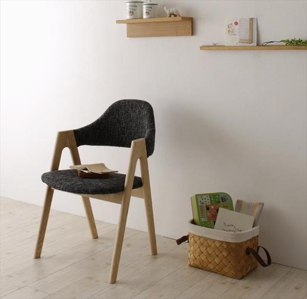 天然木 北欧ナチュラルデザイン ダイニング【Tiffin】ティフィン/チェア(2脚組) 「家具 インテリア 北欧木製 ダイニングドチェア 椅子 いす 美しい」