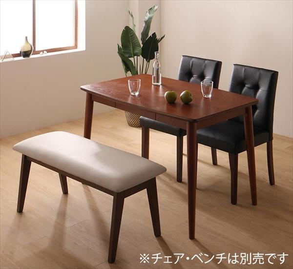 さっと拭ける PVCレザーダイニング fassio ファシオ ダイニングテーブル W115 単品 テーブルのみ セットでばありません ダイニングテーブル 天然木 木製