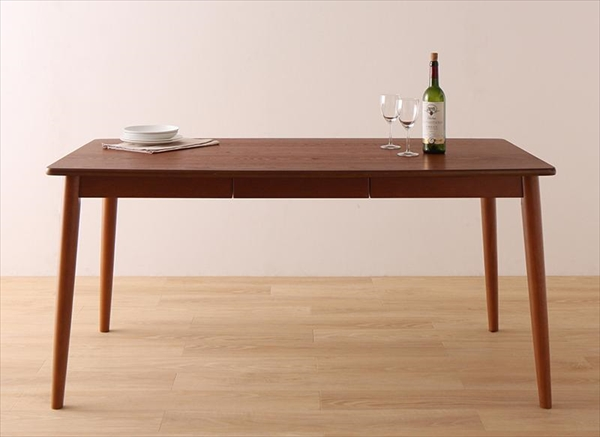 さっと拭ける PVCレザーダイニング fassio ファシオ ダイニングテーブル W150 単品 テーブルのみ セットでばありません ダイニングテーブル 天然木 木製