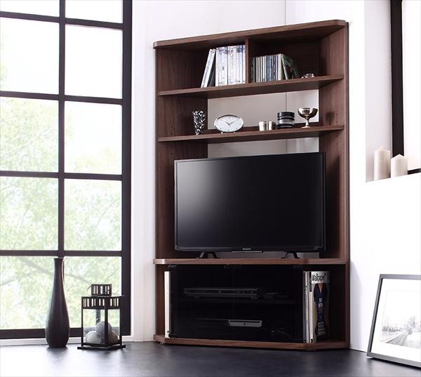 ハイタイプコーナーテレビボード Nova-next ノヴァネクスト  「対応TVサイズ~40Vまで 超薄型の奥行34cm テレビボード ハイタイプ テレビ台 ハイタイプコーナー」