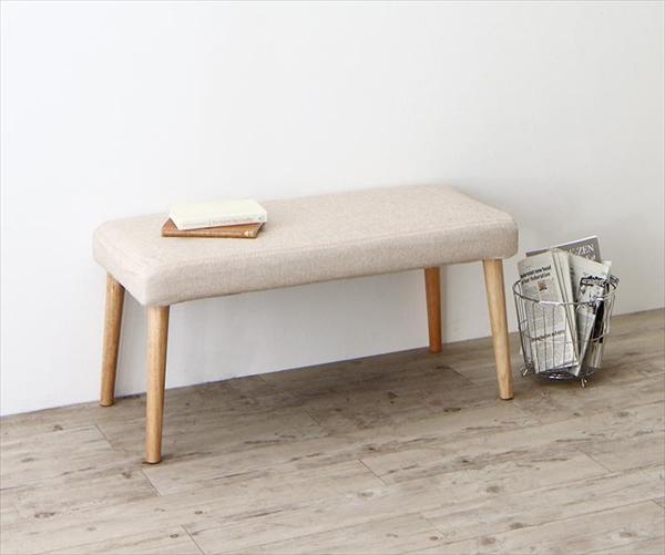 最大205cm 3段階伸縮 ワイドサイズデザイン ダイニング BELONG ビロング ベンチ 2P   単品 ベンチのみ  北欧 チェア 天然木 木目 ダイニングベンチ チェア 椅子 いす」