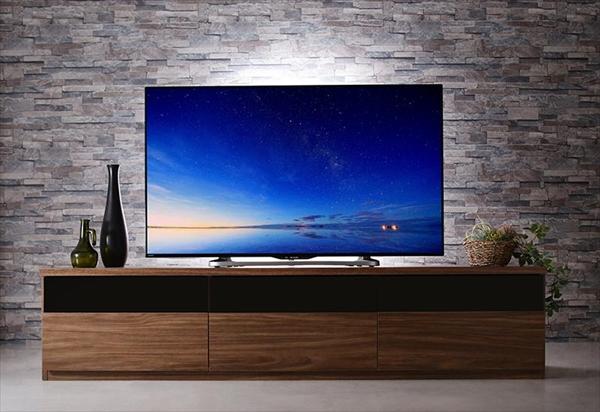 期間限定 リビングボードが選べるテレビ台シリーズ TV-line テレビライン テレビボード 幅180 「家具 インテリア テレビ台 TVボード 60型まで 収納力抜群 配線ストレス解消 高級感 木目 ウォルナット調 」