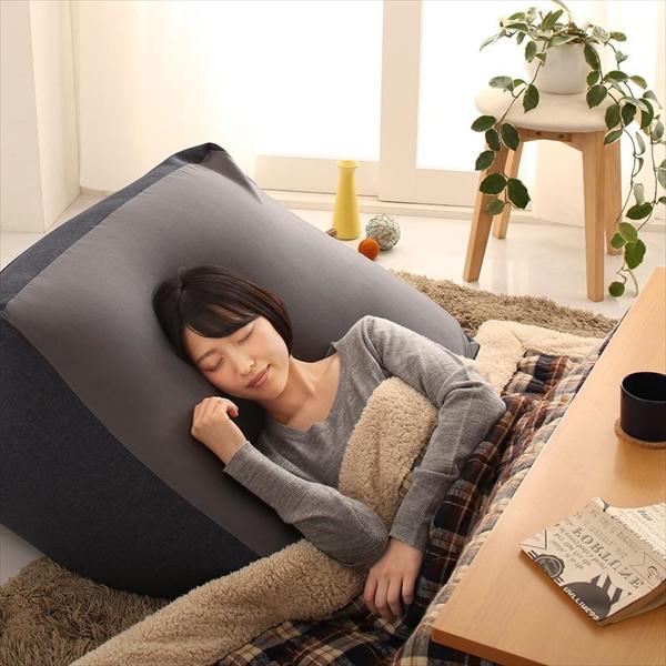 3サイズから選べるマイクロビーズクッション 幅85cm 国産 気軽に洗える 着脱カンタン!カバーリング仕様 もっちり包まれる座り心地 もちもち感触 リラックス スツールとして ソファとして 1人掛け