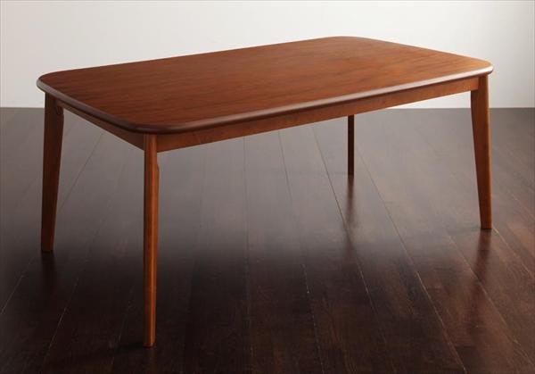 ソファ&ダイニングセット DARNEY ダーニー ダイニングテーブル W160 単品 天然木 木目 美しい ウォールナット材 丸み シンブル NC塗装 お手入れも簡単
