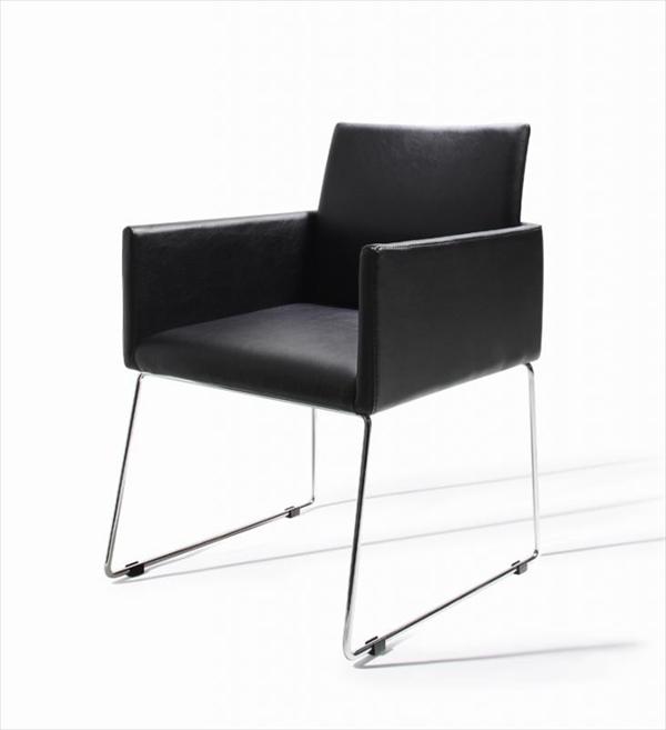モダンデザインアームチェア付きダイニング【Graniel】グラニエル チェア1脚 「デザイナーズチェア ダイニングチェア 椅子」