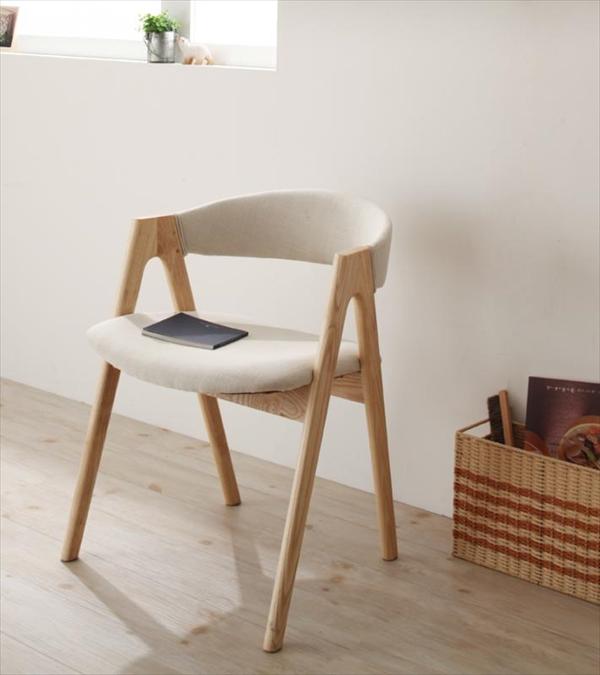 モダンインテリアダイニング【ULALU】ウラル ロータイプチェア(2脚組)  「北欧デザイナーズチェア 天然木 木目 ダイニングチェア チェア 椅子 いす」